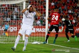 Real Madrid kalah dari Mallorca, gagal kembali ke puncak