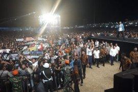 Setelah pelantikan presiden, Jokowi nonton Konser Musik untuk Republik