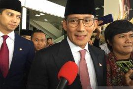 Sandiaga harapkan Jokowi-Ma'ruf  amanah