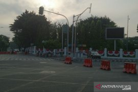 Ruas jalan seputar Istana ditutup dan dialihkan jelang pelantikan Presiden