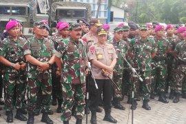 Panglima TNI bersama Kapolri pantau kesiapan pengamanan pelantikan presiden