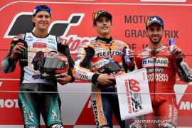 Marc Marquez juarai GP Jepang, Honda raih gelar konstruktor 2019