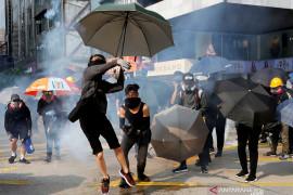 Pengunjuk rasa Hong Kong berterima kasih pada Donald Trump