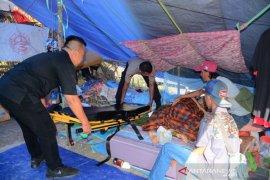 Penderita kanker di pengungsian desa Hunuth bersedia dirawat gratis