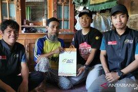 ACT Sulsel-Kitabisa bantu warga miskin bangun ulang rumahnya