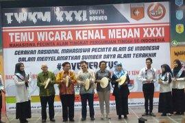 Mapala se-Indonesia arungi Gunung Maratus