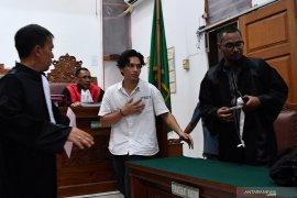 Aktor Jefri Nichol sampaikan pembelaan di PN Jaksel