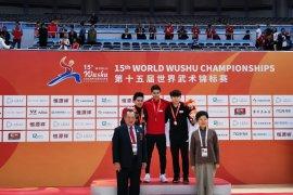 Edgar Xavier sabet emas kejuaraan dunia wushu