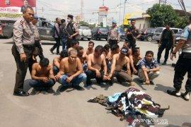 Polisi ringkus 13 oknum OKP terlibat bentrok di Medan