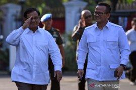 Prabowo tiba di Istana temui Presiden Jokowi