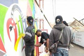 Mural Gang Agung meriahkan Hari Jadi Kota Pontianak ke-248