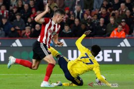 Arsenal kalah 0-1 di markas Sheffield United