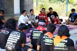 Wabup HSS sambut peserta TWKM Mapala se Indonesia