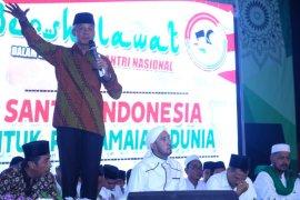 """Ganjar sebut """"ramalan"""" santri mengenai Prabowo jadi menteri"""