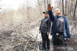 "Bupati Banyuwangi minta bantuan ""water bombing"" atasi karhutla Gunung Ijen"