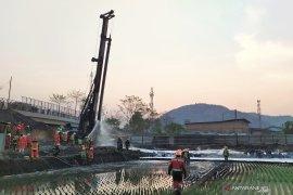 Kebakaran pipa minyak di Cimahi, pemadaman api berlangsung  sekitar tiga jam