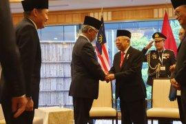 Wapres Ma'ruf bersama Raja Malaysia bahas perangi radikalisme