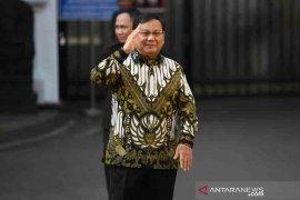 Prabowo Subianto, jadi  Menteri Pertahanan Jokowi-Ma'ruf