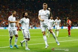 Real Madrid menang di markas Galatasaray