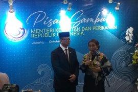 Menteri Kelautan dan Perikanan Edhy Prabowo sebut visi-misi yang ada milik Presiden