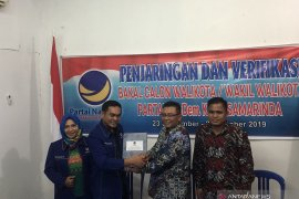 Anggota DPRD Kaltim Saefuddin Zuhri Daftar Cawali ke Partai Nasdem