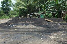 Warga Desa Bongkang Tabalong keluhkan eks pertambangan