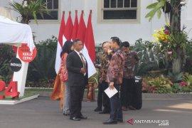 Calon menteri dan pejabat mulai berdatangan ke Istana Kepresidenan Jakarta