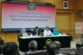 Mantan Menkopolhukam Wiranto sebut radikalisme jadi PR buat Mahfud