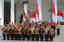 Jokowi-Ma'ruf Amin namakan Kabinet Indonesia Maju