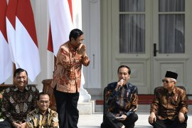 Jokowi-Ma'ruf namakan kabinet Indonesa Maju