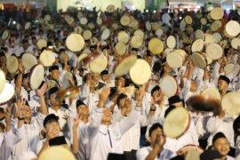 Parade seribu rebana meriahkan Hari Santri Nasional di Kota Madiun