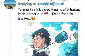 Diganti Edhy Prabowo, Susi Pudjiastuti banjir pujian dari masyarakat