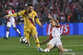Hasil Liga Champions, Messi catat rekor baru