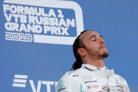 Hamilton berpeluang kunci gelar juara dunia di  GP Meksiko