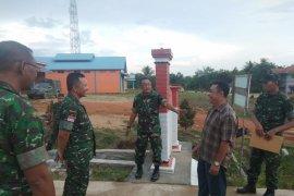 Pasahli Pangdam XII/Tpr tinjau pelaksanaan program desa mandiri