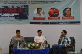 Bentuk Pusat Legislasi Nasional, Puskapsi pertanyakan janji Jokowi
