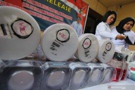 Polisi bongkar peredaran kosmetik ilegal beromzet miliaran rupiah