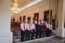 Presiden Jokowi melantik 12 Wamen Kabinet Indonesia Maju