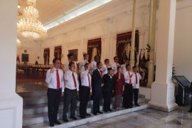 Presiden Joko Widodo tunjuk dua wakil menteri untuk BUMN