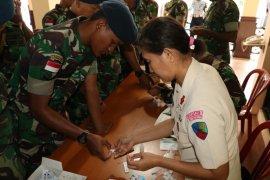Prajurit Lanud Pattimura Ambon  bebas HIV/ Aids