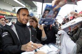Lewis Hamilton start terdepan di seri final Abu Dhabi