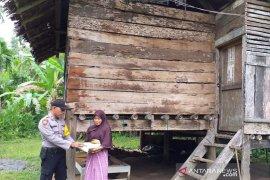 Polres Aceh Utara salurkan 1,5 ton beras untuk kaum duafa