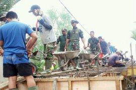 Pembangunan Jembatan Beton Di Kabupaten Indragiri Hilir Capai 61 Persen