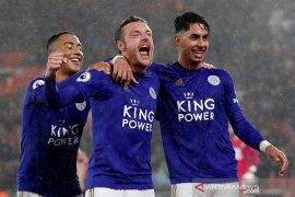 Leicester hajar 10 pemain Southampton 9-0