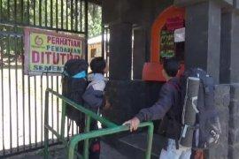 Jalur pendakian Gunung Lawu Magetan masih ditutup karena kebakaran hutan
