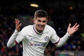 Pulisic cetak trigol saat Chelsea menang dari Burnley