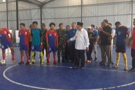16 tim berlaga di turnamen futsal PWI Maluku Utara