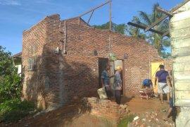Puting beliung landa Langkat, tiga rumah warga rusak