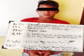Polsek Banteng ringkus pembawa senjata tajam di tempat keramaian