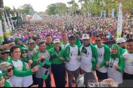 Menko Polhukam lepas 25.000 peserta JSN KAHMI di Pontianak